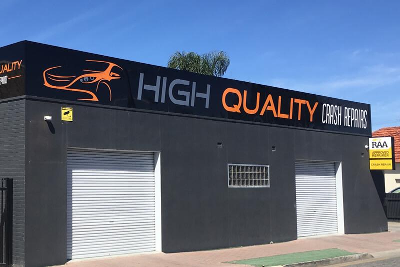 High Quality Crash Repairs - Somerton Park