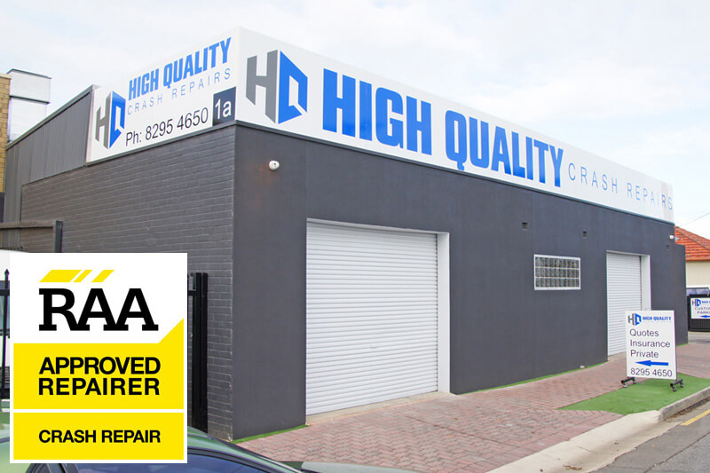 High Quality Crash Repairs - Somerton Park