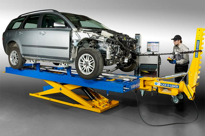 High Quality Crash Repairs - Chassis Straightening