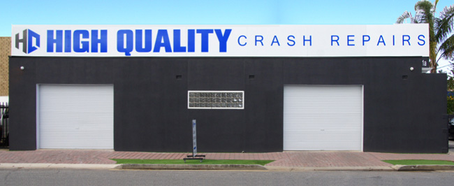 High Quality Crash Repairs Workshop - Somerton Park